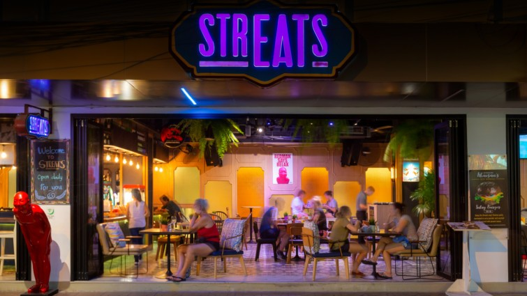 ร้านนั่งชิลย่านข้าวสาร โรงแรมไอบิส กรุงเทพ